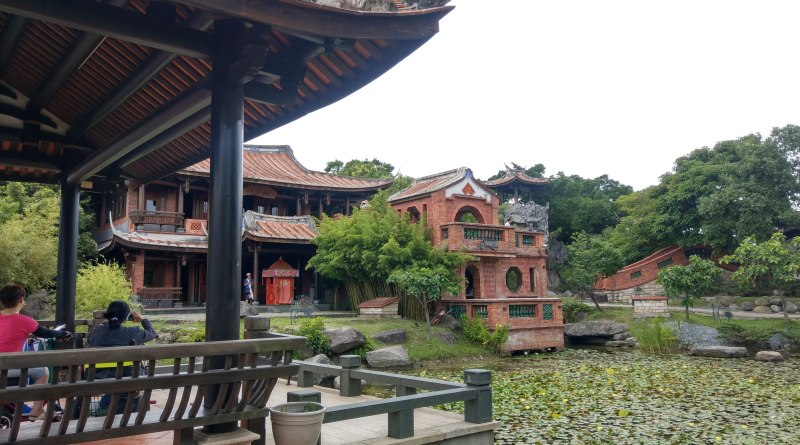 traditional chinese architecture at lin an tai historical house