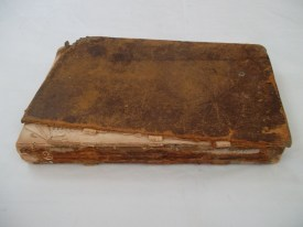 book before conservation treatment