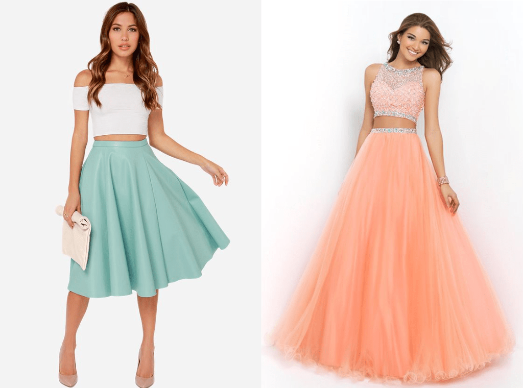 Two Piece Dresses