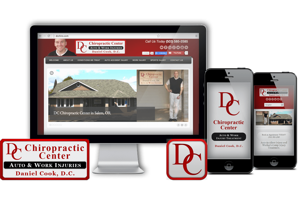 Chiropractor Brand and Identity Marketing Services in Salem, OR