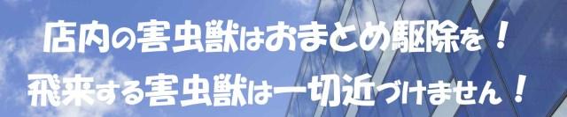 WEB素材 SKY 清掃 690×69.jpg 店内の害虫獣はおまとめ駆除を!