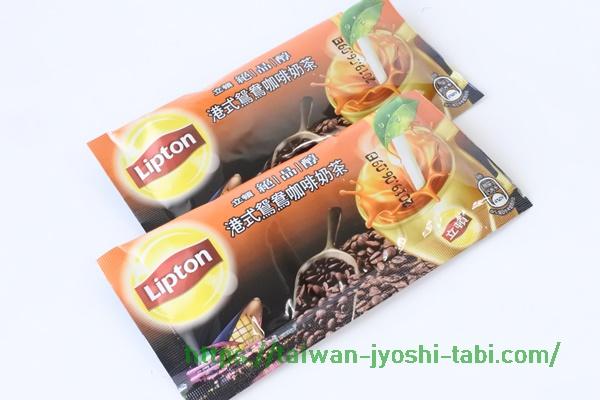 リプトンミルクティー 台湾 港式鴛鴦珈琲奶茶