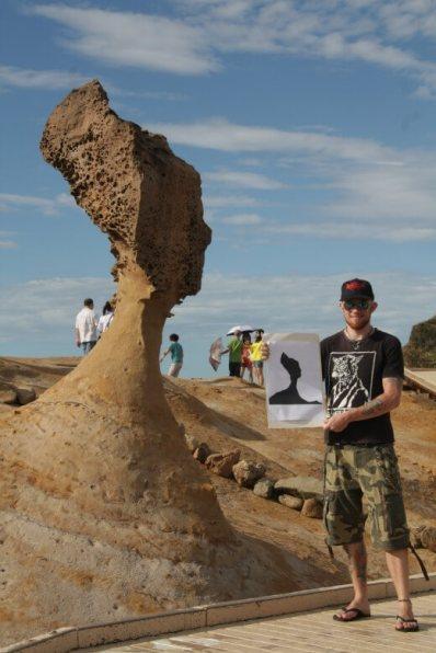 At Yeliu Geopark
