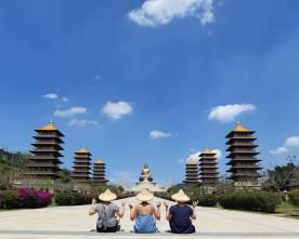top 30 scenes of mytaiwantour_kaoshiung foguangshan