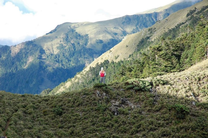 Splendid mountain scenery