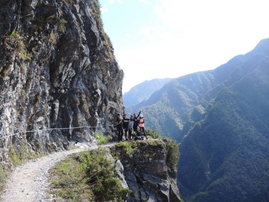 Taiwan Scene_MyTaiwanTour blog_Taroko gorge Zhuilu hiking trail