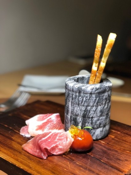 Iberico Ham, Bread and Tomato 2018 (image source: hungryintaipei)