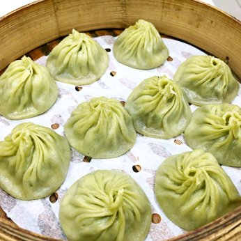 Oolong tea xiao long bao (image source: Taiwan Scene)