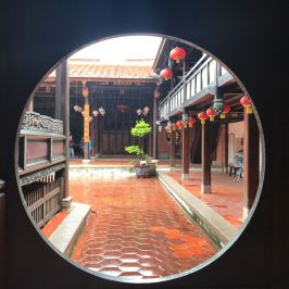 Inside of Wufeng Lin Family Mansion & Garden (image source: Taiwan Scene)
