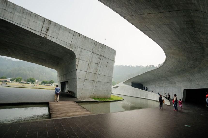 Modern Xiangshan Visitor Center
