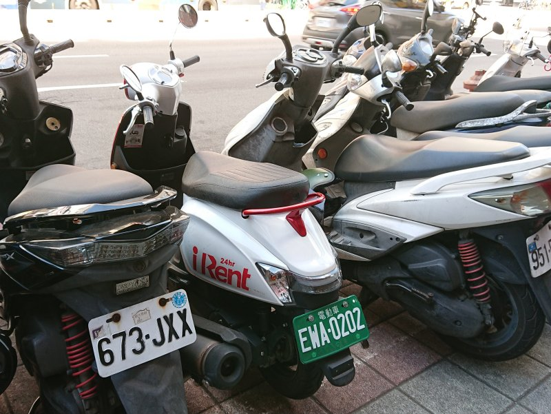 iRENT is one of the biggest scooter rental companies in Taiwan.