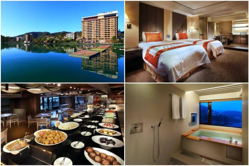 Take a hot bath in your room while admiring the lake during your stay at Sun Moon Lake Hotel.