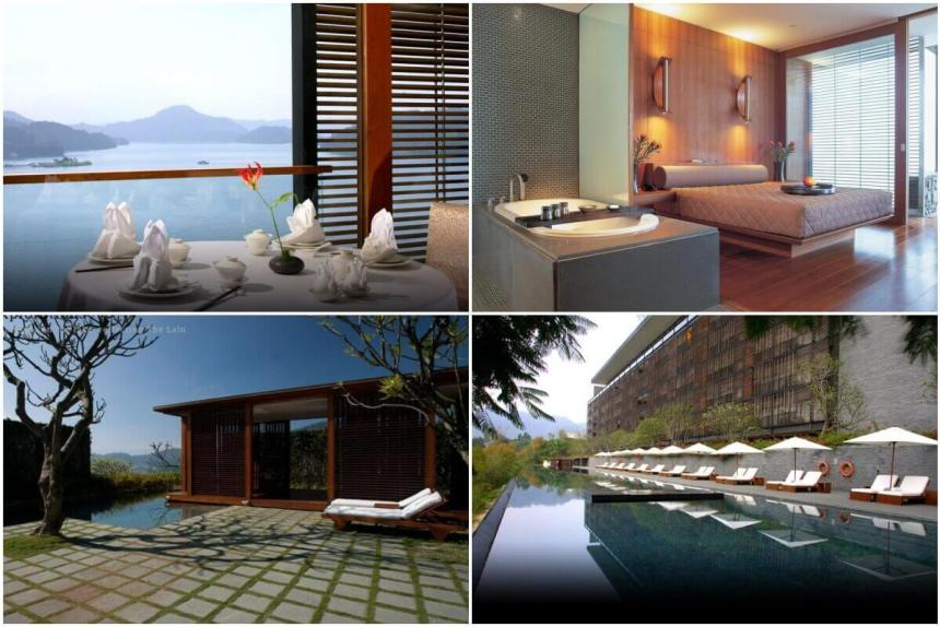 The Lalu Sun Moon Lake is all kinds of fancy.