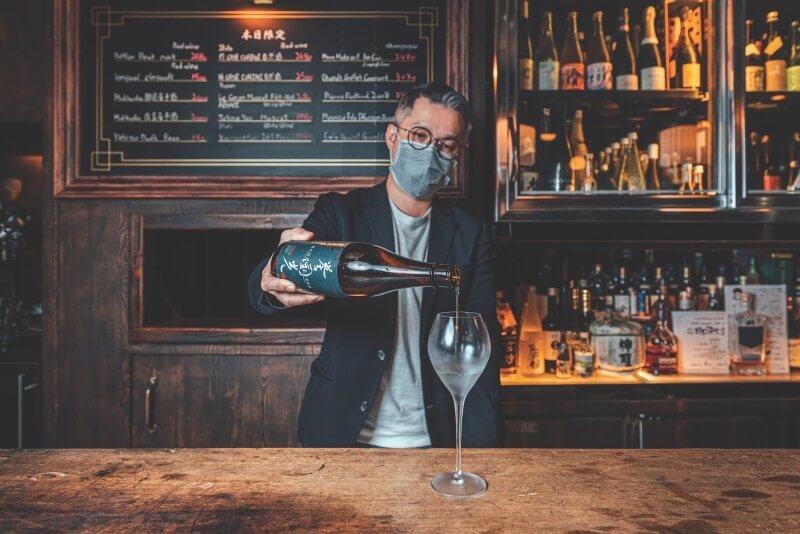 Shochu Sake Bar is where to find various Japanese sake in Taipei.