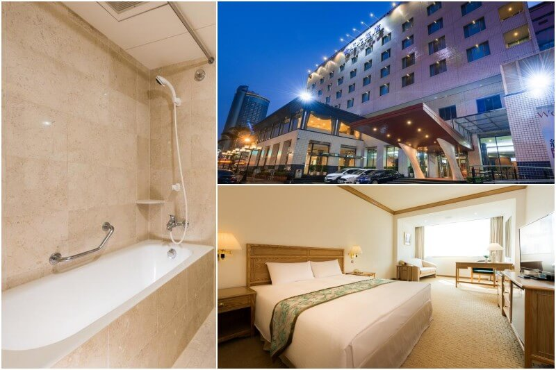 Hotel Tainan near Tainan Train Station.