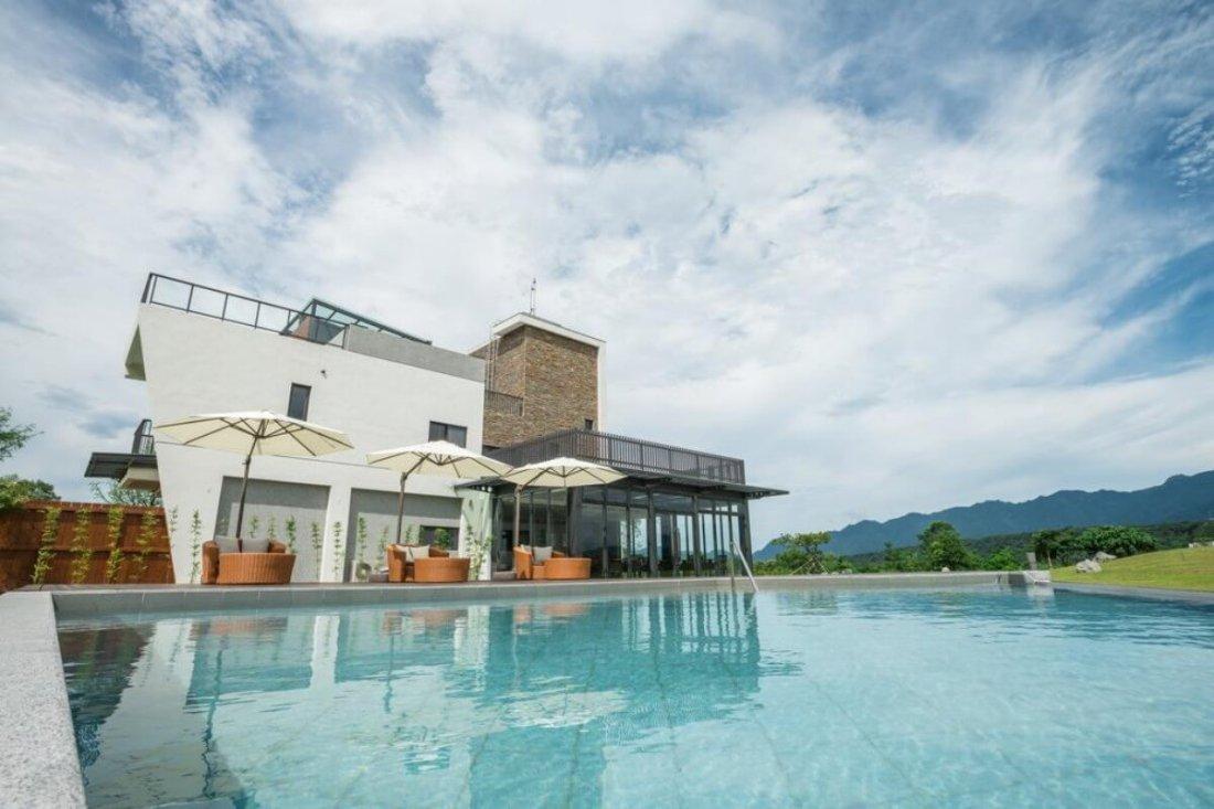 hot spring hotel/b&b in Hualien, Taiwan: the Silence Manor