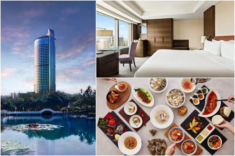 Shangri-La's Far Eastern Plaza Hotel in Tainan.
