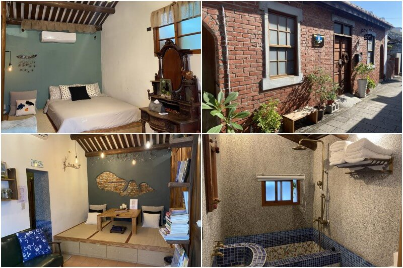 Slow Living, a cozy B&B in Tainan's Anping District.