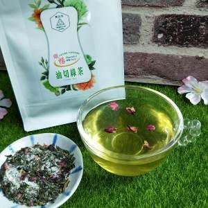 台灣油切綠茶