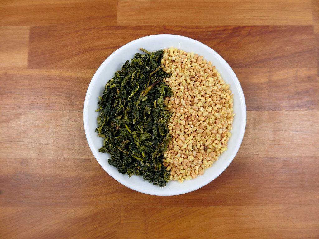 蕎麥綠茶實體