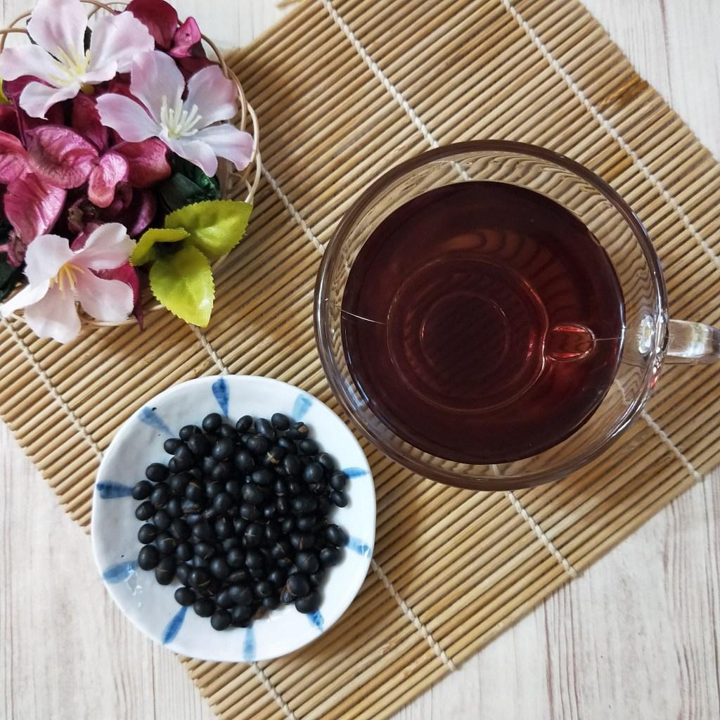十大常喝茶類功效黑豆茶