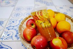 熱血採訪│一芳水果茶採用當季盛產水果熬製的水果茶香甜好喝,滿滿鳯梨自然甜味在口中迸發!!!就在台中科博館正門斜對面~