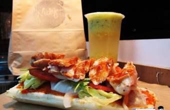 2017 02 03 221548 - 【熱血採訪】NickJu 尼克啾 碳烤法式三明治 位於中國醫附近的尼克啾 NickJu 主打法式三明治,把餐廳所用的食材搬到街頭,讓客人用平價價格吃到高檔美味