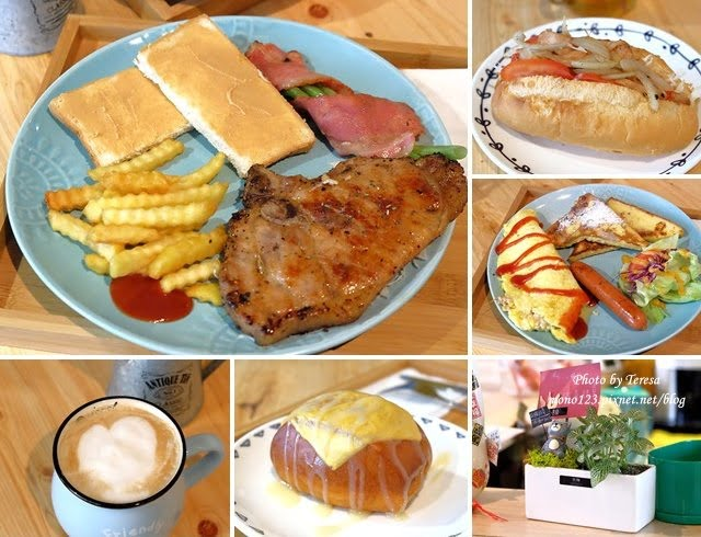 【台中太平】一張几 手作料理廚房.隱藏在小巷子裡的早午餐,現點現作、價格平實又用心的早午餐店推薦