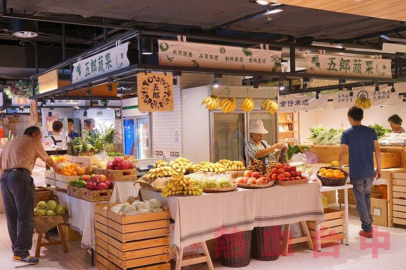 台中第六市場試營運現場直擊│全台第一個開在百貨公司的傳統菜市場將於9/21正式開幕