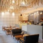 卉-HUI CAFÉ│頗具質感的下午茶甜點早午餐店,頭頂上有著滿滿火柴棒~走進來後絕對拍個不停!