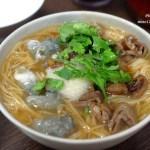 台中北屯︱二煱臭豆腐 蚵仔麵線.又酥又香又臭又不油膩的臭豆腐,還有好吃的麵線