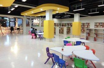 2018 02 25 110022 - 一中商圈舊圖書館重新開幕 戶外閱讀輕食區寬敞舒適 可愛兒童閱覽區  落地窗綠林好風景