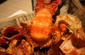 熱血採訪│鐵克諾南洋風味手扒海鮮拼盤超豐盛!搭配超厚龍蝦痛風都快發作了
