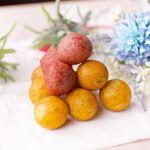 台中地瓜球正夯!肯德基不務正業推出雙色地瓜QQ球,口感紮實有包餡