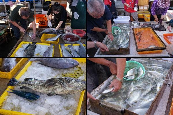 2018 07 17 172602 - 澎湖魚市場│早上6點過後很多海鮮都會沒了,想去要趁早,價格便宜人潮多