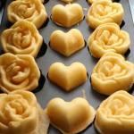 南屯也出現玫瑰花雞蛋糕!還有綠豆沙牛奶口味雞蛋糕,近萬和宮~