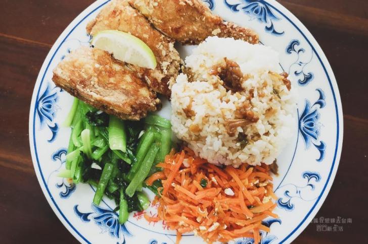 2019 05 23 132809 - 在地人大推的便當店,紅葡萄快餐便當的雞腿便當太美味,台南西港美食必吃店