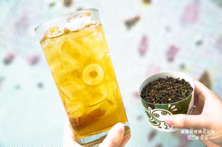 2019 05 30 112550 - 台南手搖飲料另類選擇,有鹹食炸物可以內用的金三益都會茶飲