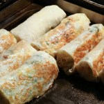 旱溪夜市必吃美食!!顛覆傳統吃法,酥皮春捲外皮超清脆,一周只賣這一天!!