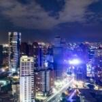 忘廊Lounge ONE,亞緻大飯店29樓俯瞰市區美麗夜景,人多建議要先訂位!