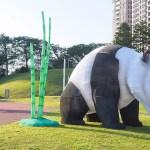 戽斗星球動物現身文心森林公園,動物童趣樂園即將熱鬧登場!