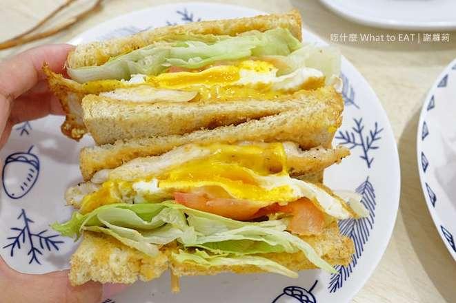 2019 12 19 113046 - 三重早餐吃到飽!三重蛋餅、水煎包、三明治、吐司、漢堡都在這
