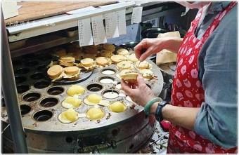 2020 02 27 184247 - 台中無蛋素食紅豆餅║袁媽媽紅豆餅,8種口味鹹甜都有,餡料滿滿,菜脯、起司、奶油都好吃!!