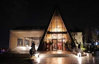 2020 03 02 224804 - 黑森林景觀咖啡│台中最美夜景餐廳,玻璃屋教堂搭清水模建築超好拍