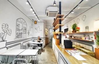 2020 04 24 004223 - 一起ㄔ雞~黑白漫畫風格的美式炸雞店,飲料、炸雞、炸物、簡餐通通有,還有炸全雞,近審計新村