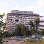 台中最新特色地標,中國醫藥大學水湳校區,外觀奇特超顯眼!