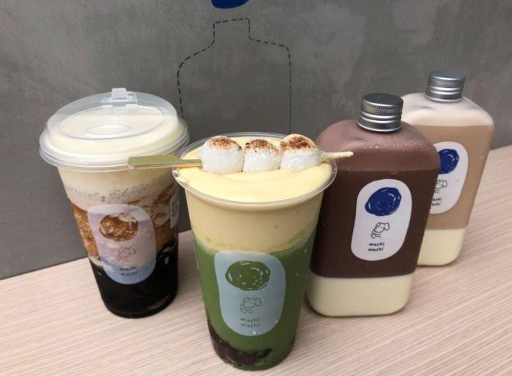 2020 10 25 160341 - 西區飲料店 抹茶控別錯過!麥吉MACHI MACHI推出季節限定抹茶紅豆布蕾奶霜,現烤「日式烤糰子」手搖飲、甜點一次擁有!