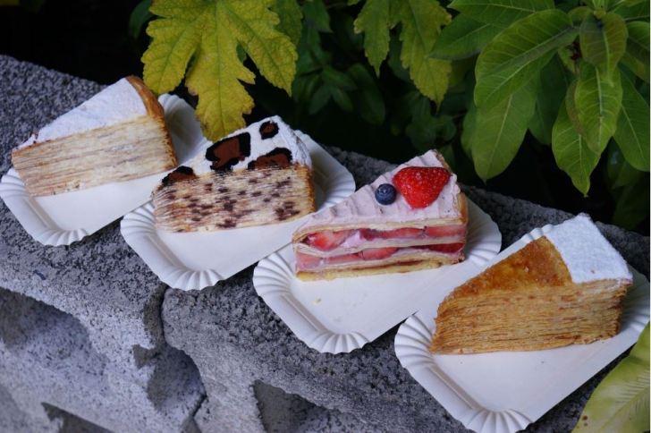2021 01 20 154125 - 熱血採訪|台南人氣千層甜點狸小路逢甲新開幕!1月限定組合,6吋草莓巧克力蛋糕+長條原味初雪只要450元