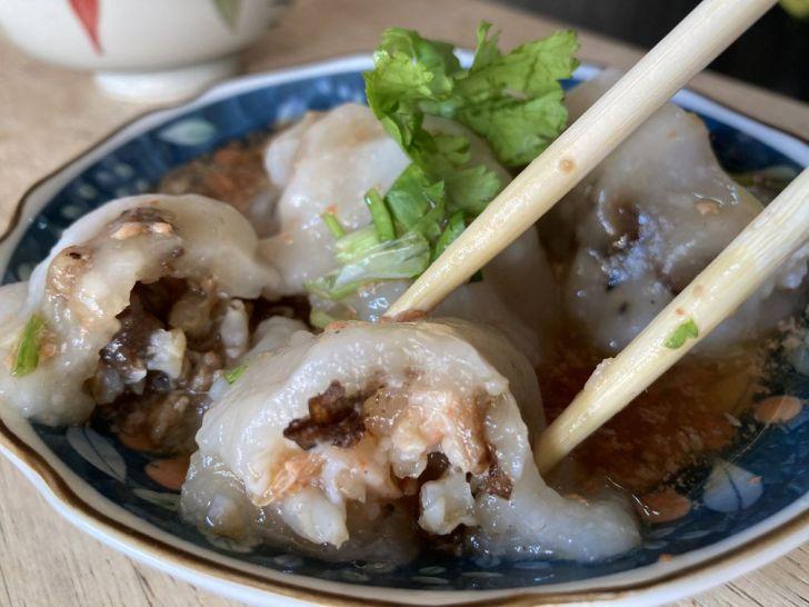 2021 01 31 145441 - 台南小吃|古早味小吃茂雄蝦仁肉圓,清蒸鮮蝦肉圓再淋上蝦醬整個超鮮甜!