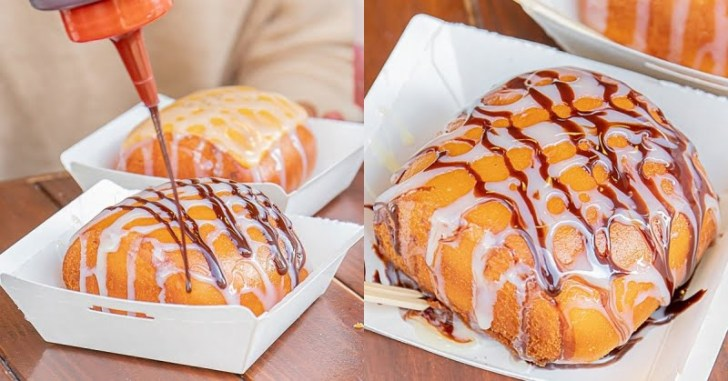 2021 01 31 223239 - 幸福之家黃金煉乳饅頭,多達10種口味的人氣炸饅頭,從早上8點到晚上都能吃得到!